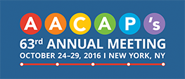 AACAP's 63rd Annual Meeting Logo