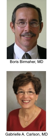 Boris Birmaher, MD, and Gabrielle A. Carlson, MD
