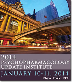 2013 Psychopharmacology Update Institute Logo