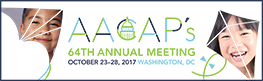 AACAP's 64th Annual Meeting Logo