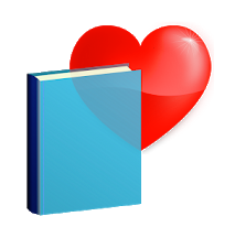 book and heart