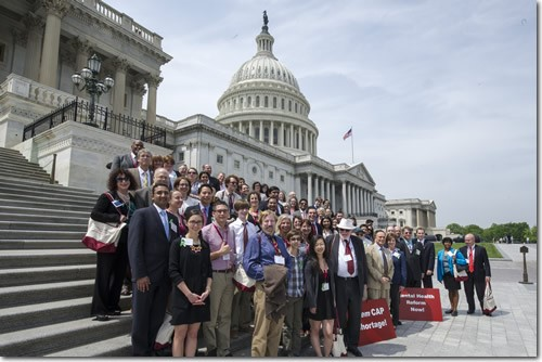AACAP Legislative Conference Members Photo